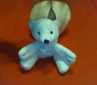 Оригинальная мягкая игрушка Белый медвежонок в берлоге. Параметры в собранном ви. Киев, Киевская область. фото 2