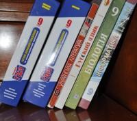 Учебники для 9 класса. Все книги в идеальном состоянии, использовались бережно (. Киев, Киевская область. фото 2