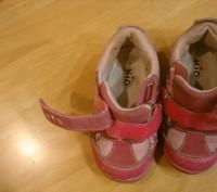 кроссовки детские размер 23, длина стельки 15 см, состояние хорошее ,Застежки на. Полтава, Полтавская область. фото 7