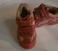 кроссовки детские размер 23, длина стельки 15 см, состояние хорошее ,Застежки на. Полтава, Полтавская область. фото 3