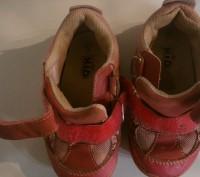 кроссовки детские размер 23, длина стельки 15 см, состояние хорошее ,Застежки на. Полтава, Полтавская область. фото 6