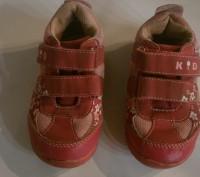 кроссовки детские размер 23, длина стельки 15 см, состояние хорошее ,Застежки на. Полтава, Полтавская область. фото 2