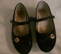 туфли для девочки размер 34,длина стельки 21 см,застежка на липучках.ХОРОШЕЕ СОС. Полтава, Полтавская область. фото 2