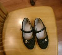 туфли для девочки размер 34,длина стельки 21 см,застежка на липучках.ХОРОШЕЕ СОС. Полтава, Полтавская область. фото 4