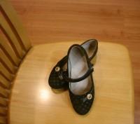 туфли для девочки размер 34,длина стельки 21 см,застежка на липучках.ХОРОШЕЕ СОС. Полтава, Полтавская область. фото 5