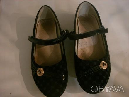 туфли для девочки размер 34,длина стельки 21 см,застежка на липучках.ХОРОШЕЕ СОС. Полтава, Полтавская область. фото 1