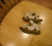 Босоножки для мальчика или девочки ,кожа ,размер 19 , длина стельки 12 см, засте. Полтава, Полтавская область. фото 3