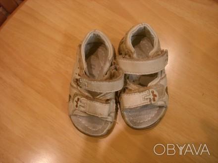 Босоножки для мальчика или девочки ,кожа ,размер 19 , длина стельки 12 см, засте. Полтава, Полтавская область. фото 1