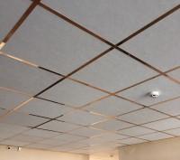 Плиты потолочные ПВХ, плиты пластиковые для подвесного потолка. Киев. фото 1