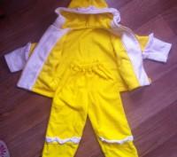 Теплый костюмчик для девочки на два года. В идеальном состоянии. Одевали один ра. Кременчуг, Полтавская область. фото 3