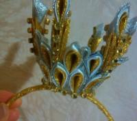 Корона на ободке для принцессы. Киев. фото 1