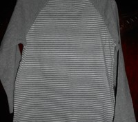 1)Полосатая футболка на 2 г.,рост 92 см.,спинка длиннее переда,в хорошем состоян. Киев, Киевская область. фото 5