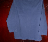 1) серая футболка с синими рукавами, на 18-24 мес.,на плече застежка (кнопки),MI. Киев, Киевская область. фото 7