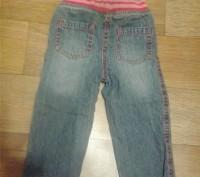 Утепленные джинсы для девочки early days на резинке на рост 74 см. Подходят ребе. Кременчуг, Полтавская область. фото 3