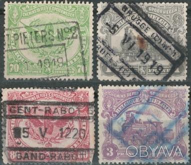 Бельгия   1919 г.в. Sc# Q71, Q72, Q74, Q76 USED, G/VG    . Одесса, Одесская область. фото 1