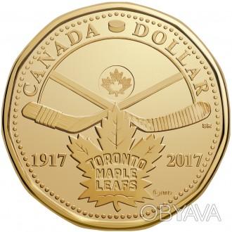 Канада - Canada 2017 г. $1 доллар Торонто UNCIRCULATED