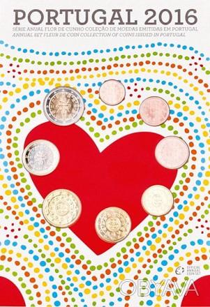 Португалия 2016. Официальный годовой набор монет