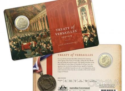 Австралия 2019. Официальный набор $1. Версальский договор