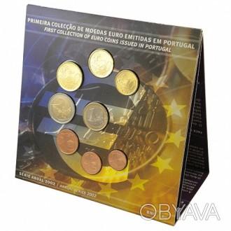 Португалия 2002. Официальный годовой набор монет