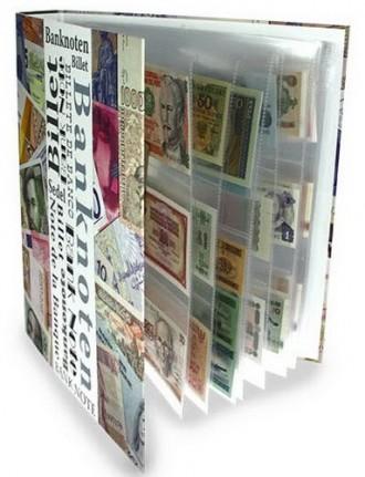 Альбом для банкнот    Альбом для банкнот SAFE с возможностью добавления листов д. Одесса, Одесская область. фото 2