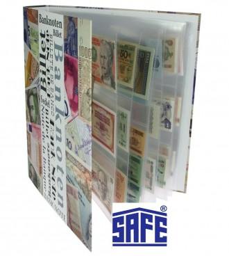 Альбом для банкнот    Альбом для банкнот SAFE с возможностью добавления листов д. Одесса, Одесская область. фото 4