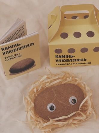 И так знакомьтесь - новый друг.  Удивительная игрушка-питомец «камінь-улюбленець. Киев, Киевская область. фото 8