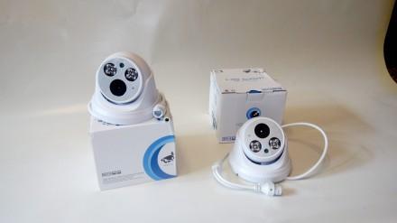 IP камера с записью звука 2 мегапикселя (купольная).H.265 Как показывает сморит. Ровно, Ровненская область. фото 9