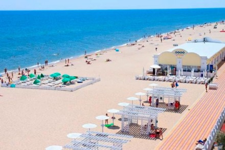 Затока 1.5 га 1 я линия от моря ,  отличное место , 110 м фасад на море .0675935. Затока, Одесская область. фото 2