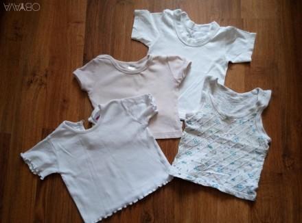 Продам качественные футболочки, майки в отличном состоянии.Подойдут для мальчика. Суми, Сумська область. фото 1