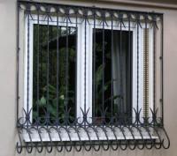 Изготовление и монтаж решеток на окна, балконы, двери. Быстро, качественно, недо. Киев, Киевская область. фото 2