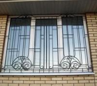 Изготовление и монтаж решеток на окна, балконы, двери. Быстро, качественно, недо. Киев, Киевская область. фото 3