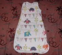 спальный мешок для деток от 0 до 18 мес. б/у. состояние хорошее.. Сумы, Сумская область. фото 8