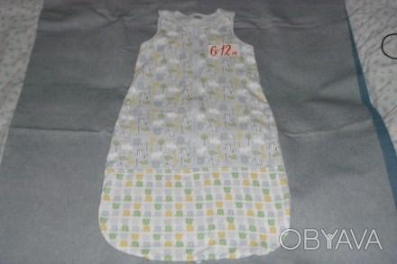 спальный мешок для деток от 0 до 18 мес. б/у. состояние хорошее.. Сумы, Сумская область. фото 1