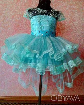 Нарядные платья Модель 5    Есть любые размеры и разные цвета - на ваш вкус (. Полтава, Полтавская область. фото 1