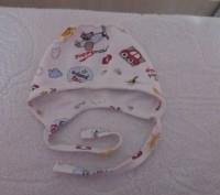 Качественные удобные шапочки для малышей на объем головки 38-42 см..Состояние от. Сумы, Сумская область. фото 8