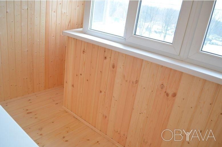 Обшивка балкона вагонкой, харьков - obyava.ua.
