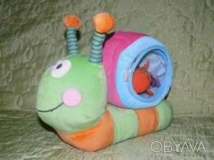 Игрушка в хорошем состоянии Улитка (в ракушке еще 2 маленькие игрушечки) - 60 гр. Лубны, Полтавская область. фото 1