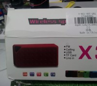 Mini Speaker X3 Bluetooth Speaker Portable. Нежин. фото 1