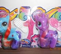 Лошадка My Little Pony, расческа. Доставка укрпочтой 20 грн. Транспортными комп. Миргород, Полтавська область. фото 2