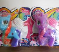 Лошадка My Little Pony, расческа. Доставка укрпочтой 20 грн. Транспортными комп. Миргород, Полтавская область. фото 3