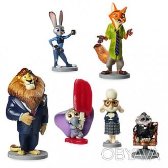 Размер фигурок: до 10 см  Производитель: Disney, США  Для детей: от 3-х лет  . Запоріжжя, Запорізька область. фото 1