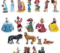 Мега игровой набор фигурки принцессы Дисней с фигурками друзей животных. Запоріжжя. фото 1
