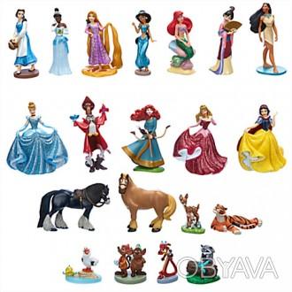 Размер фигурок: 10 см  Производитель: Disney , США  Для детей: от 3-х лет   . Запорожье, Запорожская область. фото 1