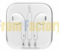 Срочно Наушники Apple EarPods с пультом дистанционного управления и микрофоно. Харьков. фото 1