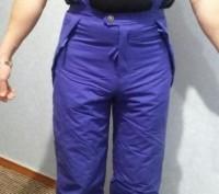 Зимние брюки д/активного отдыха на подростка 11-14 лет. Рост 146-164 см. Размер . Житомир, Житомирская область. фото 3
