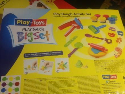 """Масса для лепки Bigset PT 42188 """"Play Toys """" (24 предмета: 6 цветов) Лучший пода. Киев, Киевская область. фото 8"""