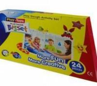 """Масса для лепки Bigset PT 42188 """"Play Toys """" (24 предмета: 6 цветов) Лучший пода. Киев, Киевская область. фото 2"""