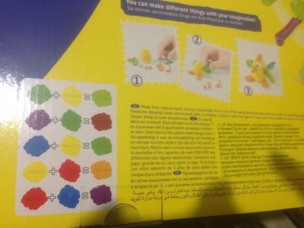 """Масса для лепки Bigset PT 42188 """"Play Toys """" (24 предмета: 6 цветов) Лучший пода. Киев, Киевская область. фото 9"""