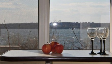 сдаю квартиру на намыве,заводский район,береговая зона,вид на речку,кухня студио. Ленінський, Миколаїв, Николаевская область. фото 5