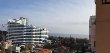 Сдам квартиру с видом на море в отличном состоянии. Ул Литературная ЖК 35 Жемчуж. Большой Фонтан, Одесса, Одесская область. фото 12